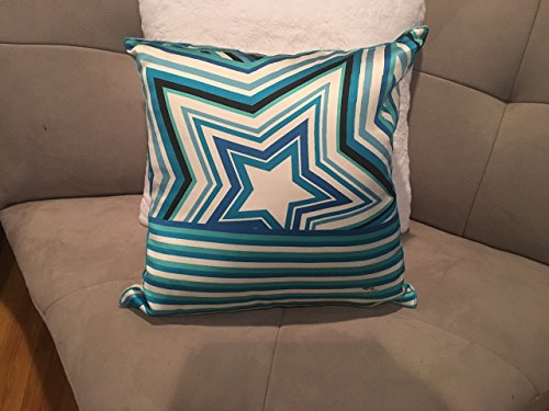 Custom made Emilio Pucci authentic luxury silk star pillow Spring/Summer 2008 collection