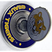PAC GOLF NCAA METAL POKER CHIP Mondomark Ball Mark Ballmark LSU TIGERS
