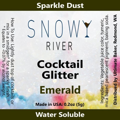 Emerald Mix (Snowy River Cocktail Glitter Emerald (5grams))