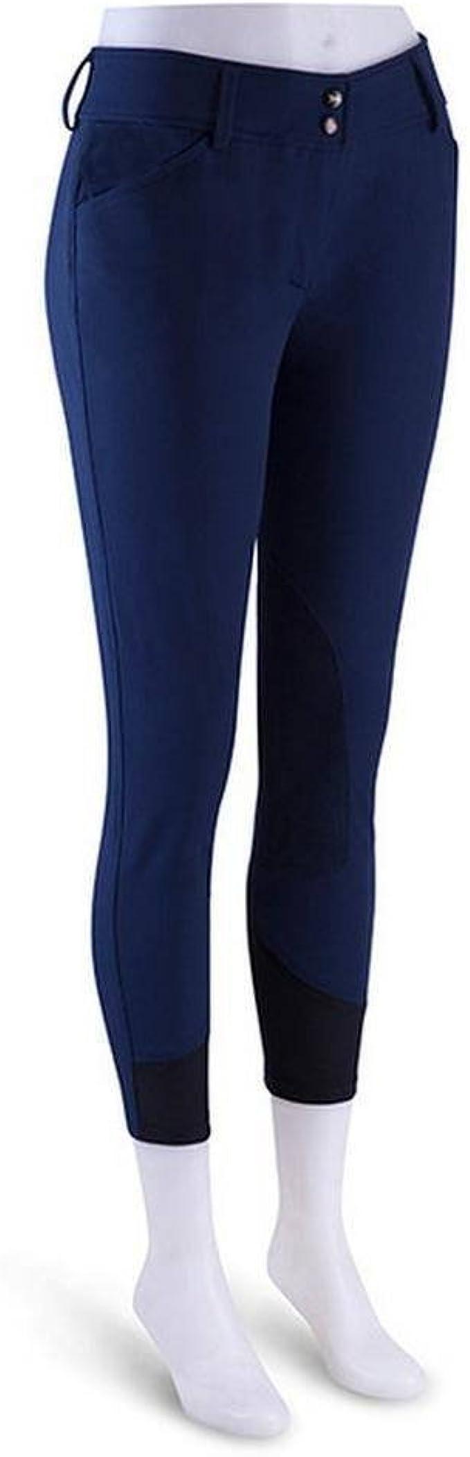 R.J Classics Gulf Low-Rise Front Zip Breeches Deep Blue