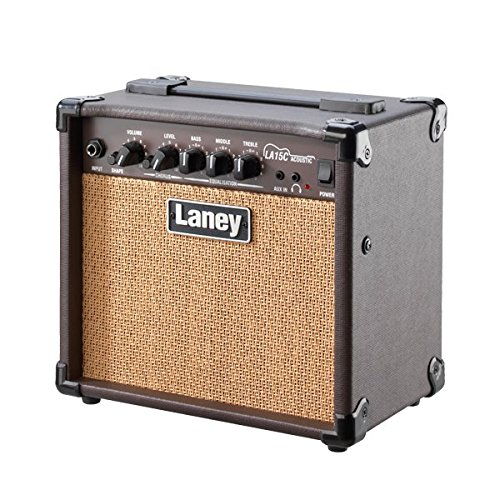 Laney LA15C LA Series Compact Acoustic Guitar Practice Amplifier with Chorus by Laney