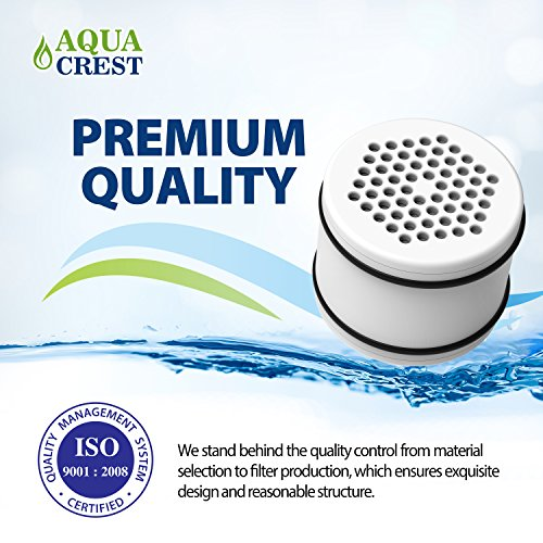 AQUACREST WHR-140 Replacement Shower Water Filter, Compatible with Culligan WHR-140, WSH-C125, HSH-C135, ISH-100 Shower Water Filter Units (Pack of 2) by AQUA CREST (Image #5)
