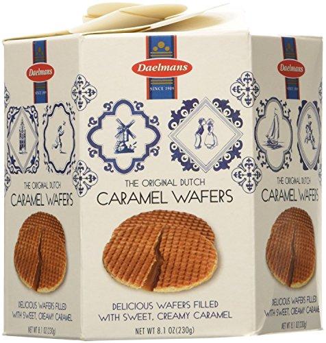 Daelmans Dutch Caramel Wafers Box 8.1 Oz(Pack of 6)