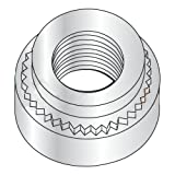 M2.5-0.45-1 Self Clinching Nuts/Steel/Zinc/Shank Height: .97 mm/Minimum Sheet Thickness: 1 mm (Carton: 7,000 pcs)