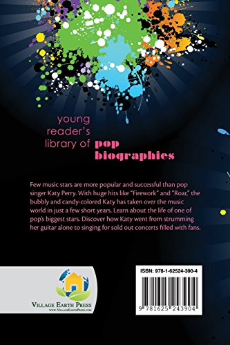 Katy Perry (Young Reader's Library of Pop Biographies) (Volume 5)
