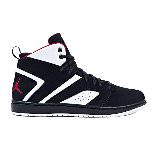 Zapatillas Jordan - Flight Legend Negro/Rojo/Blanco Talla: 41: Amazon.es: Zapatos y complementos