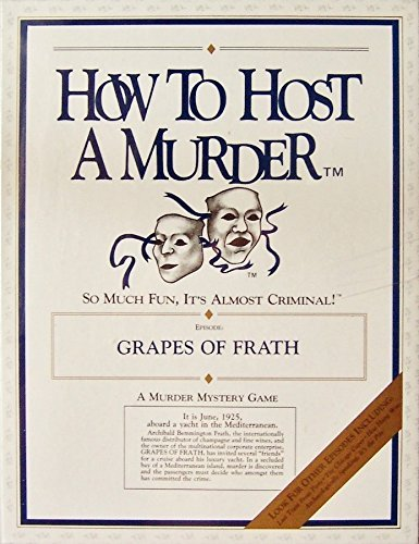 How to Host a Murder  Grapes of Frath Cassette Edition by How to Host a Murder