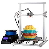 3D Printer DIY Kit Full Aluminum Large Printing Size 300x300x400mm with Heated Build Plate from DYFeng