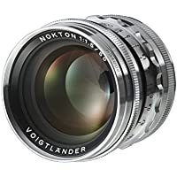 Voigtlander Nokton 50mm f/1.5 Aspherical Standard Manual Focus Lens - Silver