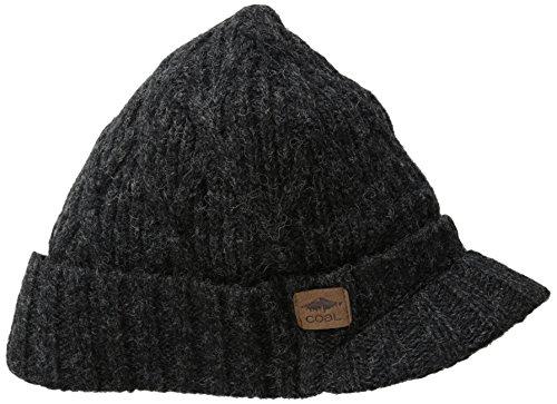 The Yukon Brim Chunky Knit Warm Beanie (Chunky Wool Hat)