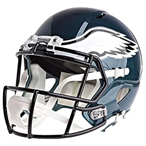 Philadelphia Eagles Officially Licensed Speed Full Size Replica Football Helmet