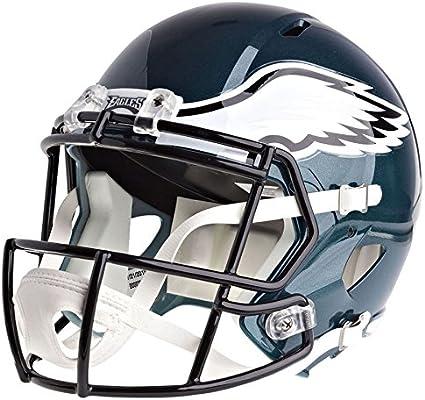 bdb7df292ae Amazon.com   Riddell Philadelphia Eagles Officially Licensed Speed Full  Size Replica Football Helmet   Sports   Outdoors