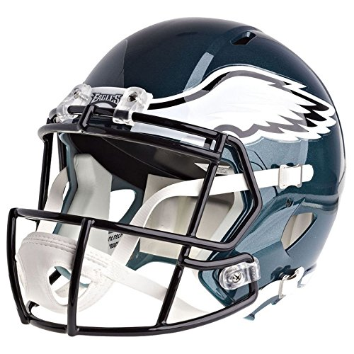 Riddell Philadelphia Eagles Officially Licensed Speed Full Size Replica Football Helmet