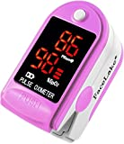 Facelake FL-400 Pink Pulse Oximeter
