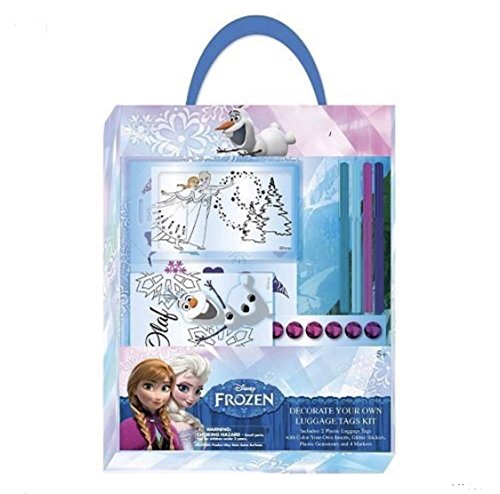 Disney Frozen Decorate Your Luggage