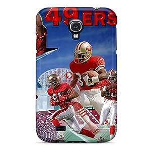 Samsung Galaxy S4 Ekj16718WGmI Custom Realistic San Francisco 49ers Pictures Best Hard Phone Cases -MansourMurray