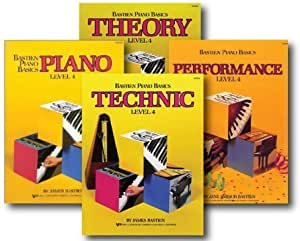 Amazon.com: Bastien Piano Basics Level 4 - Four Book Set