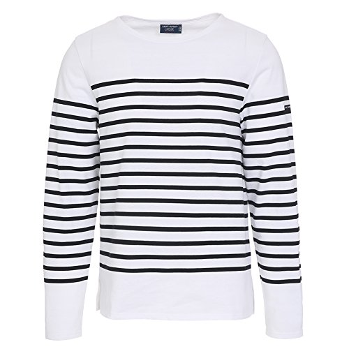 saint-james-mens-naval-striped-long-sleeve-shirt-2691-ic-neige-noir-m