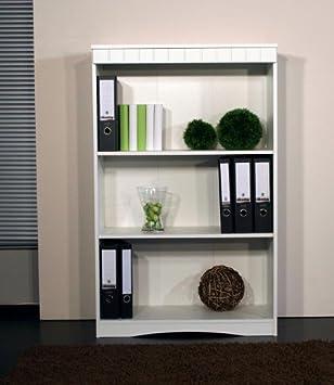 El archivador oficina estantería - Reloj de pared - blanco: Amazon.es: Hogar