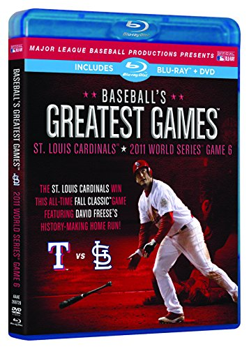 Baseball's Greatest Games: 2011 World Series Game 6 [Blu-ray + DVD] ()