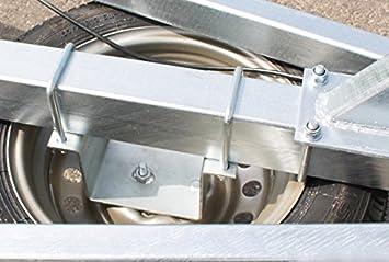 Maypole 195 Supporto universale per ruota di scorta