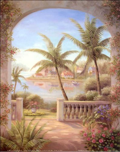 Tropical Terrace II Paper Tole 3D Kit 8x10