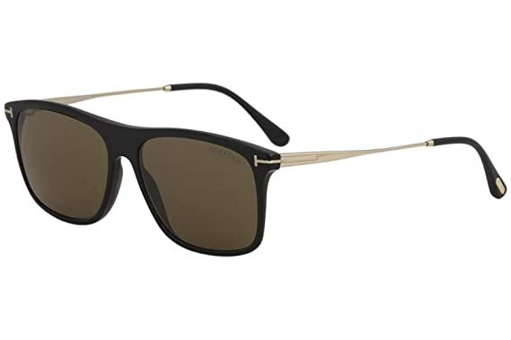3ba4ea5d1f13 Image Unavailable. Image not available for. Color  Sunglasses Tom Ford FT  0588 Max- 02 01E shiny black ...