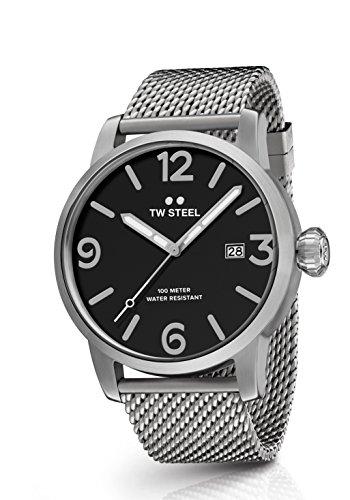 TW Steel Men's 'Maverick' Quartz Stainless Casual Watch, Color:Silver-Toned (Model: MB11)