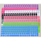 """Folox TM Colored Keyboard Cover Protector for 15.6"""" HP Pavilion 15, G15 TouchSmart Sleekbook, Such as 15-j, 15-b, 15t-j, 15t-e, 15z-j, 15z-e, 15z-b Series (2 Pack Order, See Description)"""