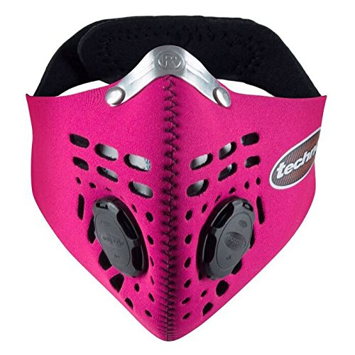 Respro Techno Anti-Pollution Mask - Large - Pink by Respro