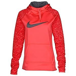 NIKE Womens Dri-Fit Therma-Fit Training Hoodie Long Sleeve 803446-850 (Medium)