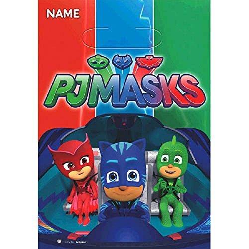 PJ Masks Favor Bags (8ct)
