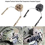 Dioche Helmet Rail Adapter, 2pcs Tactical Arc Rail