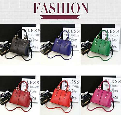 Leather Bags QUBABOBO PU Shoulder Handbags Handle Handbag Green Women for Ladies Fashion Top qzzwx4tS