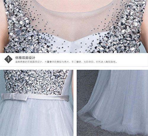 Ballo Lungo Abiti Formato Lucky Sera u Donna Personalizzato Vestito Maxi Da Chiffon Damigella Nozze D'onore aaqpx7w