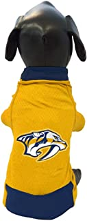 product image for NHL Nashville Predators Athletic Mesh Dog Jersey, X-Small, Gold