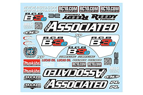 Associated Decal Sheet RC8B3e ASC81305