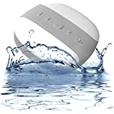 Mélodie By Dynamique - The Portable Wireless Bluetooth Shower Speaker with Perfect Bass and a 2 Year Guarantee - Water Resistant IPX4 - For Home or Car (Peppermint)