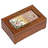 Cottage Garden Mom Woodgrain Petite Rose Music Box/Jewelry Box Plays Wind Beneath My Wings Review