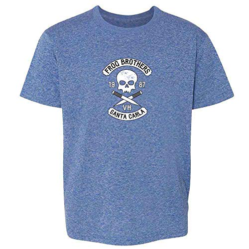Blues Brothers Halloween (Frog Brothers Santa Carla Halloween Costume Horror Heather Royal Blue 6 Toddler Kids)