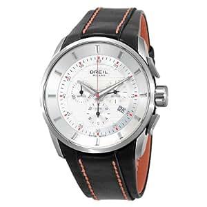 Breil Milano Men's BW0489 Milano Analog Silver Dial Watch