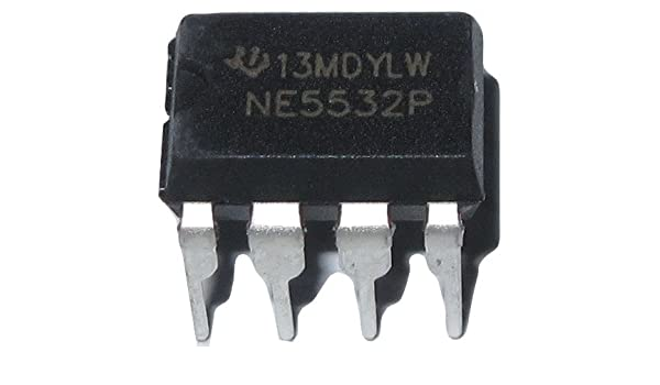 20PCS NE5532 NE5532P DIP-8 Dual Low Noise Op-Amp TI IC NEW