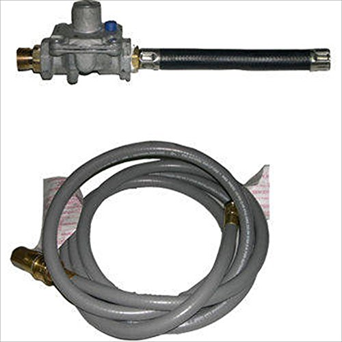 s Hose & Regulator Set, For Grills with 90,000 BTU's Or Less (Natural Gas Grill Regulator)