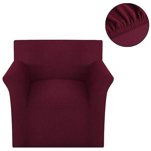 Zora Walter Funda elástica de Tela Acanalada para sofá Color ...