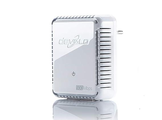 Devolo dLAN 500 Duo PLC - Adaptador de comunicación por línea eléctrica PLC Powerline: Amazon.es: Informática