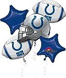Anagram Bouquet Colts Foil Balloons, Multicolor