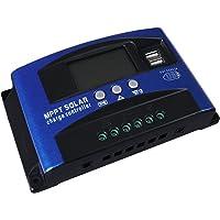 30A Solar Charge Controller 12V 24V Regulator Auto Dual USB Mppt Battery