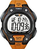 Timex Men's T5K493 Ironman Traditional 50-Lap Orange Resin Strap Watch