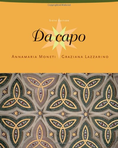Da capo, Sixth Edition (with Text Audio CD)
