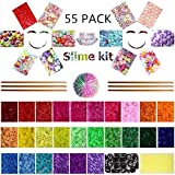 Slime Making Kits Supplies, 50 Packs Slime Supplies,Pearl, Fishbowl Beads Accessories, Slime Tools for Slime Making Art DIY Craft, Homemade Slime, Slime Making Kit Supplies Gift Set